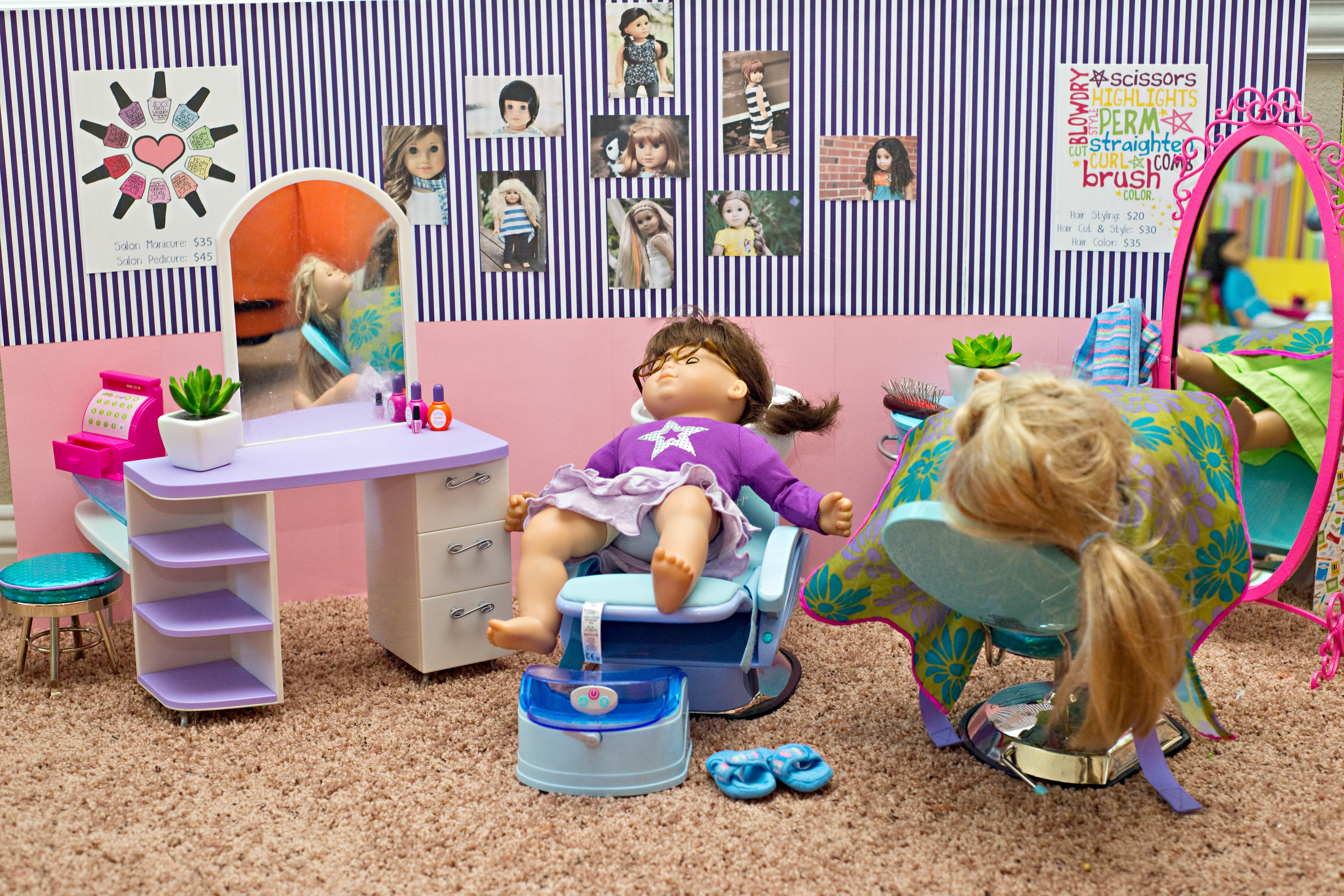 Doll Spa Diary Of A Dysfunctional Domestic Diva